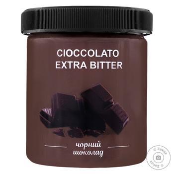 Морозиво La Gelateria italiana чорний шоколад 400г - купити, ціни на МегаМаркет - фото 1
