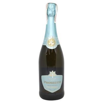 Вино игристое Colle Lauro Prosecco Brut белое 11,5% 0,75л