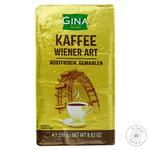 Кава Gina Віденська мелена 250г - купити, ціни на Фуршет - фото 1