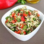 Холодный рисовый салат