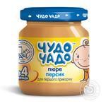 Chudo-chado for children from 3 months peach puree 90g