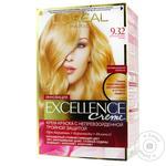 Крем-краска L'Oreal Excellence Creme тон 9.32 сенсационный блонд
