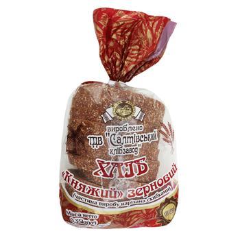 Хліб Короваєво Княжий зерновий нарізаний 350г - buy, prices for Auchan - photo 1