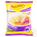 Rollton With Beef Instant Noodles 60g