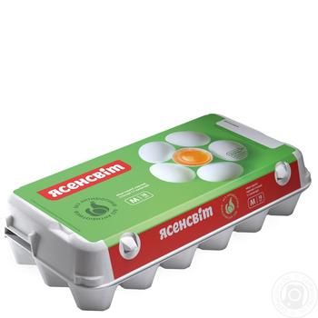 Yasensvit Chicken Eggs С1 18pcs - buy, prices for Auchan - image 1