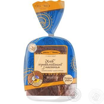 Kyivhlib Baltic with seeds half cutted bread 325g - buy, prices for Auchan - photo 3