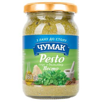 Chumak Pesto Basil Sauce 160g - buy, prices for CityMarket - photo 1
