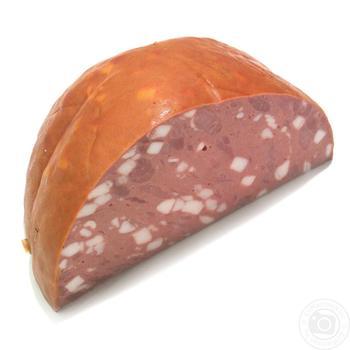 Колбаса столичная вареная высший сорт - купить, цены на Ашан - фото 1