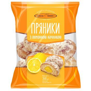 Пряники Киевхлеб с лимонной начинкой 360г - купить, цены на ЕКО Маркет - фото 1