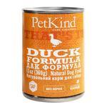 Корм PetKind Duck Formula качка для собак 369г