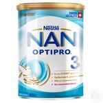 Суміш молочна Nestle Nan 3 з 12 місяців 400г