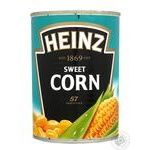 Vegetables corn Heinz canned 400g can