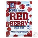 Каша овсяная Овсянушка молочная с красными ягодами 60г