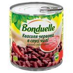 Квасоля Бондюель червона в пікантному соусі чілі 425мл