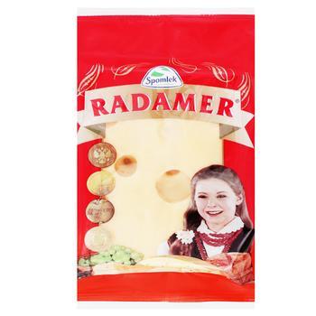 Сыр Spomlek Радамер твердый нарезанный 45% 150г - купить, цены на СитиМаркет - фото 3