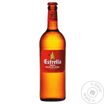 Estrella Damm Barcelona Light Beer 4,6% 0,66l