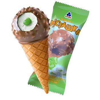 Морозиво Рудь Фісташка ріжок 70г