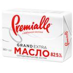Масло сладкосливочное Premialle 82,5% 180г