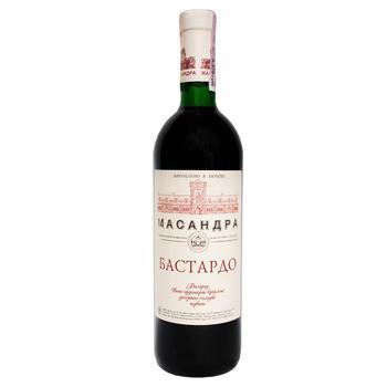 Вино Массандра Бастардо южный красное сладкое 16% 0,75л