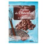 Краплі Ашан шоколадні 100г