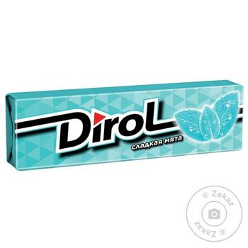 Chewing gum Dirol mint 13.6g - buy, prices for MegaMarket - image 1