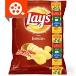 Lay's potato chips wiht bacon flavor 71g