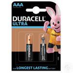 Батарейка DURACELL Ultra Power AAA 1.5V LR03 2шт