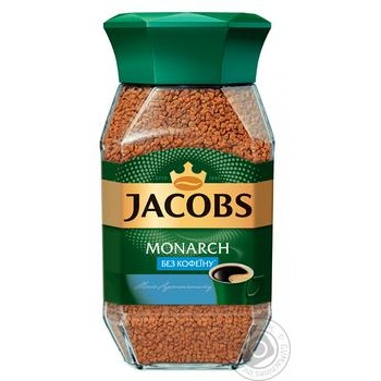 Jacobs Monarch no caffeine instant coffee 95g - buy, prices for MegaMarket - image 2