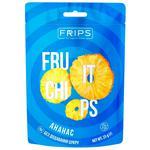 Чіпси фруктові Фріпс 25г ананас