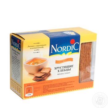 Nordic rye сrispbread 100g - buy, prices for MegaMarket - image 1