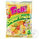 Конфеты Trolli Суперфрукты фруктовые жевательные 100г