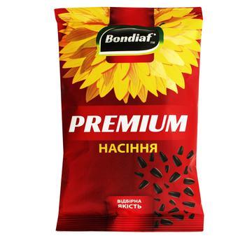 Семена подсолнечника Bondiaf Premium неочищенные жареные 170г - купить, цены на Таврия В - фото 1