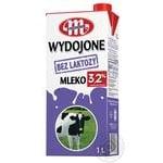 Молоко Mlekovita безлактозное 3,2% 1л