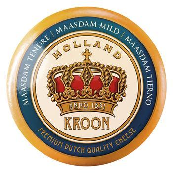Сир Kroon Маасдам 45% - купити, ціни на Фуршет - фото 1