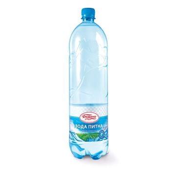 Вода Бажана марка питьевая 1500мл пластиковая бутылка Украина