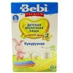 Каша Bebi Premium молочная кукурузная с 5 месяцев 200г