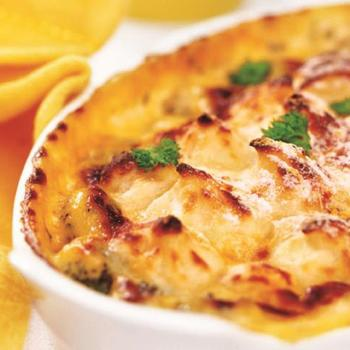 Вегетарианская мусака с сыром рикотта