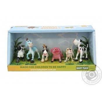 Baby Team Farm Toy Set 6pcs