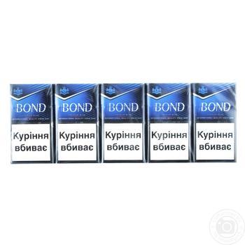 Сигареты Bond Street Premium Silver - купить, цены на СитиМаркет - фото 2