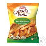 Картопля фрі Vici Любо їсти Бельгійська хвиляста заморожена 750г