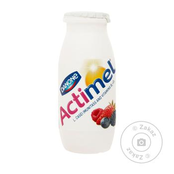 Danone Actimel With Berries Yogurt