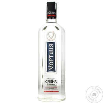 Khortytsya Srybna Prokholoda Vodka 40% 0,7l - buy, prices for CityMarket - photo 1