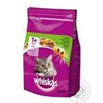 Food Whiskas with lamb dry for cats 950g