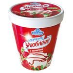 Hladyk Ylublene With Strawberry Filling Ice-Cream 500g  Paper Cup