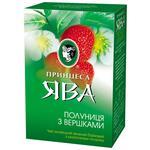 Чай зеленый Принцесса Ява Клубничное настроение 85г