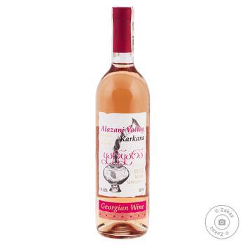 Вино Каркара Алазанская Долина розовое полусладкое 0.75л - купить, цены на СитиМаркет - фото 1