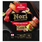 Akura Gold Nori Seaweed 10 Leaves