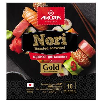 Водоросли Akura Gold норе 10 листов - купить, цены на Космос - фото 1