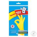 Перчатки хозяйственные Чесно Чек 8 - купить, цены на Фуршет - фото 1