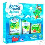Набір подарунковий HAPPY MOMENTS ДРАКОША зубна паста+шампунь 240 мл+шампунь 0+ 240 мл морська пригода